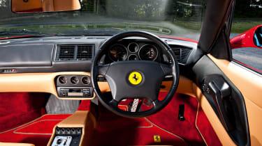 Ferrari F355 F1 interior