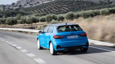 Audi A1 First Edition - blue rear