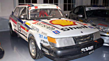 Historic Saab collection for sale