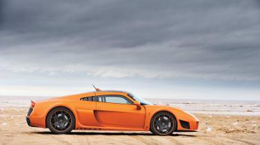 Noble M600 orange, side profile