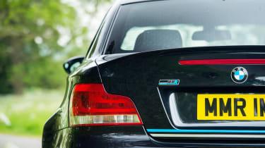 MMR BMW 1M Coupe - badge