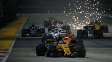 F1 Singapore - Renault 2