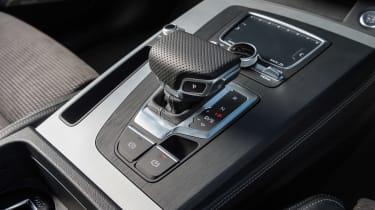 Audi Q5 S Line TFSI - gear selector