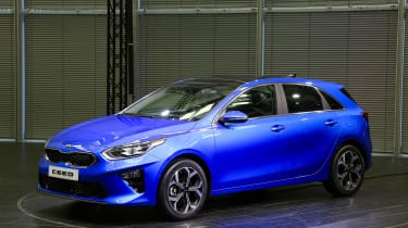 Kia Ceed launch images - front