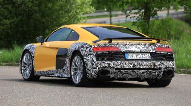 Audi R8 facelift - rear