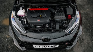 2021 Toyota GR Yaris black - engine