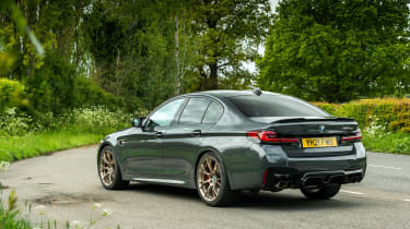BMW M5 CS – rear quarter static