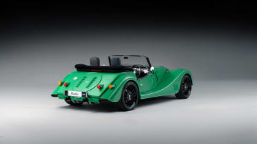 Morgan Plus Six MY22 –rear quarter