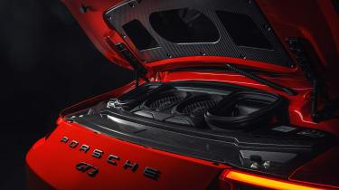 2017 Porsche 911 GT3 - engine