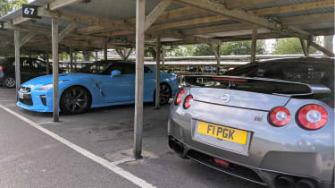 Goodwood track day 2019 -  Nissan GT-Rs
