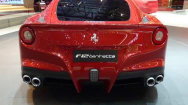 Ferrari F12 Berlinetta rear