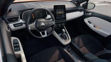 Renault Clio interior 2019 - cabin