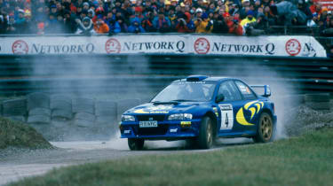 WRX STI WRC 22b