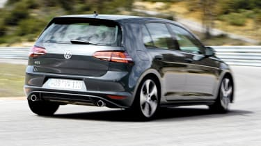 2013 mk7 VW Golf GTI rear view