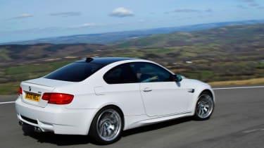 BMW M3 Competition rear corner