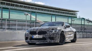 BMW M8 prototype - front quarter