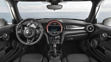 New Mini 2014 interior dashboard