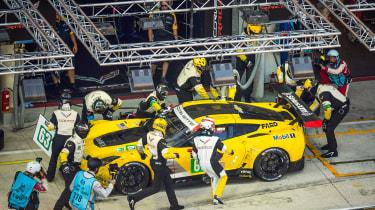 Le Mans 2017 - Corvette pits 2