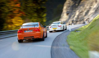 BMW M3 GTS group test video