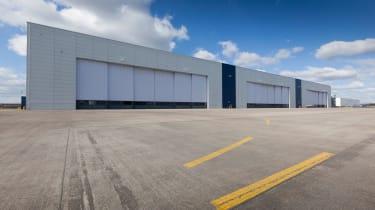 Aston Martin St Athan facility