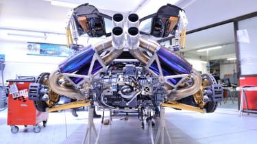 Pagani supercar factory tour video