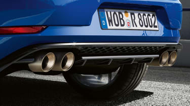 Golf R Performance pack exhaust