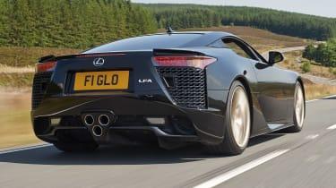 Lexus LFA rear black