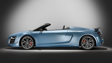 Audi R8 GT Spyder supercar official pictures