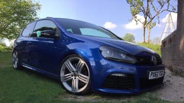Volkswagen Golf R Mk6 - front three quarter