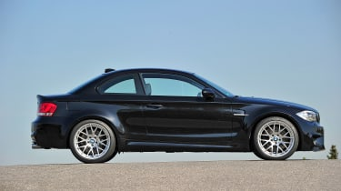 BMW 1-series M Coupe - side profile