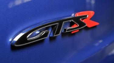 Vauxhall VXR8 GTS-R blue - UK car badge