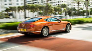 Bentley Continental GT V8 - rear quarter