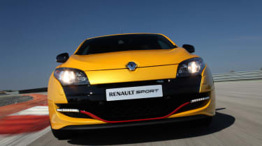Renaultsport Megane 265 Cup red grille