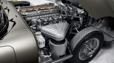 Jaguar E-Type classic engine
