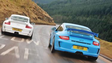 Porsche 998 GT3 rear