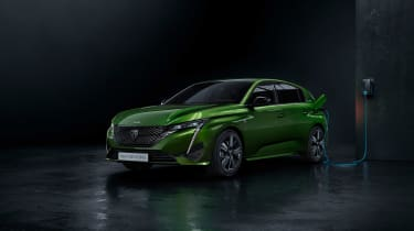2021 Peugeot 308 - front