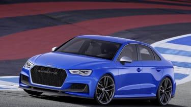 Audi A3 Clubsport quattro blue