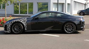 Lexus LC F prototype - side