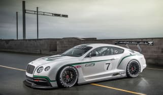Bentley Continental GT3 concept at the Paris show