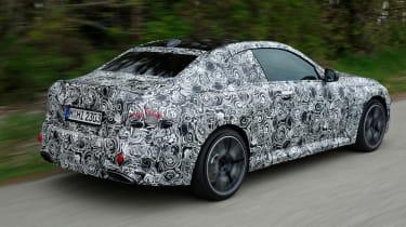 BMW M240i prototype – rear quarter