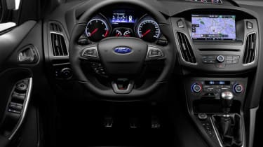 New Ford Focus ST steering wheel