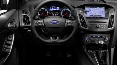 New Ford Focus ST steering wheel