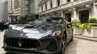 Maserati GranTurismo MC - 2018 NY grey