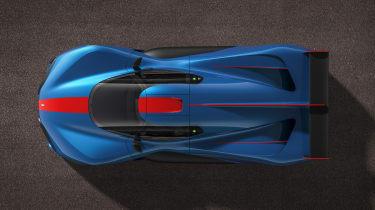 Pininfarina H2 Speed - top