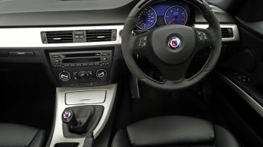 Alpina D3 dashboard