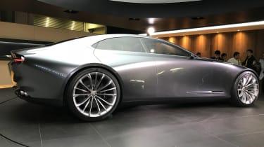 Mazda Vision Concept Coupe - live - profile