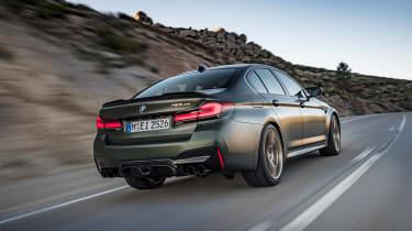 BMW M5 CS - rear tracking