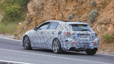 Mercedes-AMG A45 Spies - rear