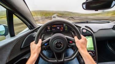 McLaren 675LT - driving