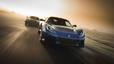 Lotus Exige 350 70th Edition  - front